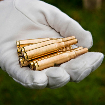 Empty Shell Casings at Arlington National Cemetery, photo by Todd A. Smith for Attlee PhotoVideo