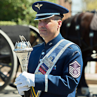 The Air Force Band Ceremonial Mace, photo by Tracey Attlee