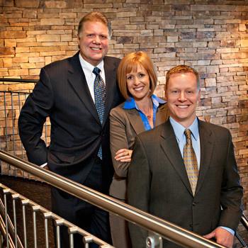Location executive group portrait at corporate headquarters in Virginia