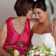 Mom Nuzzles the Bride, Key Bridge Marriott, Rosslyn, VA photo by Tracey Attlee