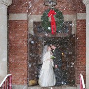 Wedding in a December Washington DC Blizzard photo Tracey Attlee