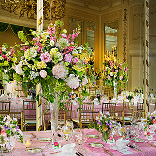 The Bride's table, spring, The Sulgrave Club, Washington, DC photo Tracey Attlee
