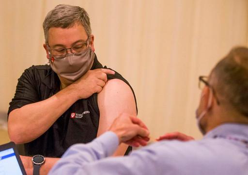 Gracias por una experiencia de vacuna bien organizada, cortés y fácil de usar