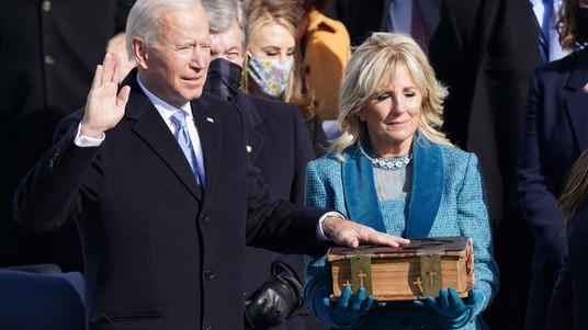 Toma de posesión de Joe Biden, a la presidencia de Estados Unidos