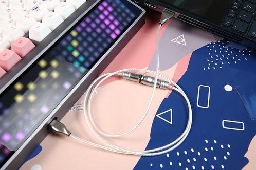 Momoka Silver Bullet Keyboard Cable