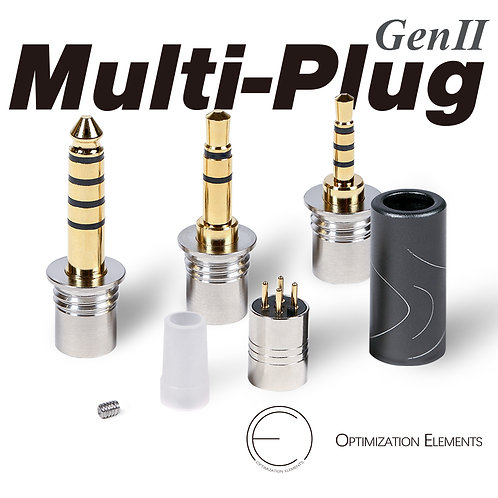 Multi-Plug Exchangeable Plug for Audio   OEAudio