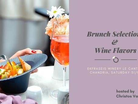 Brunch Selections & Wine Flavors