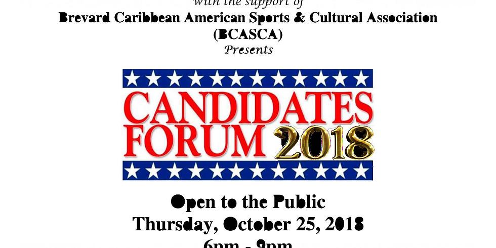 Candidates Forum 2018