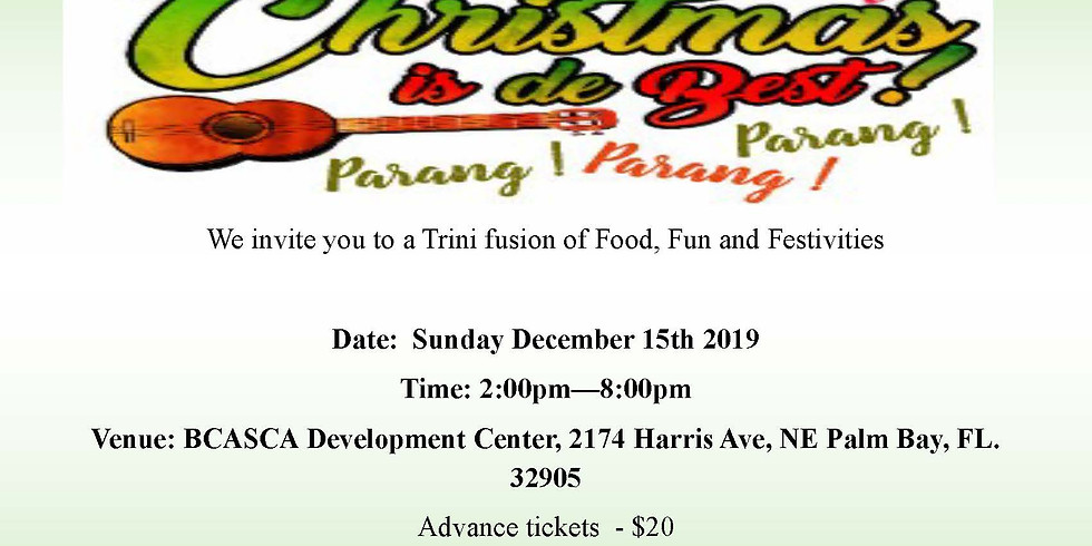 Trini Christmas Parang