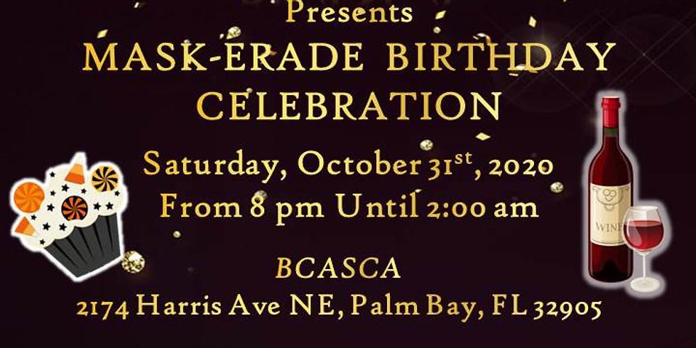 October Mask-Erade Birthnight Party