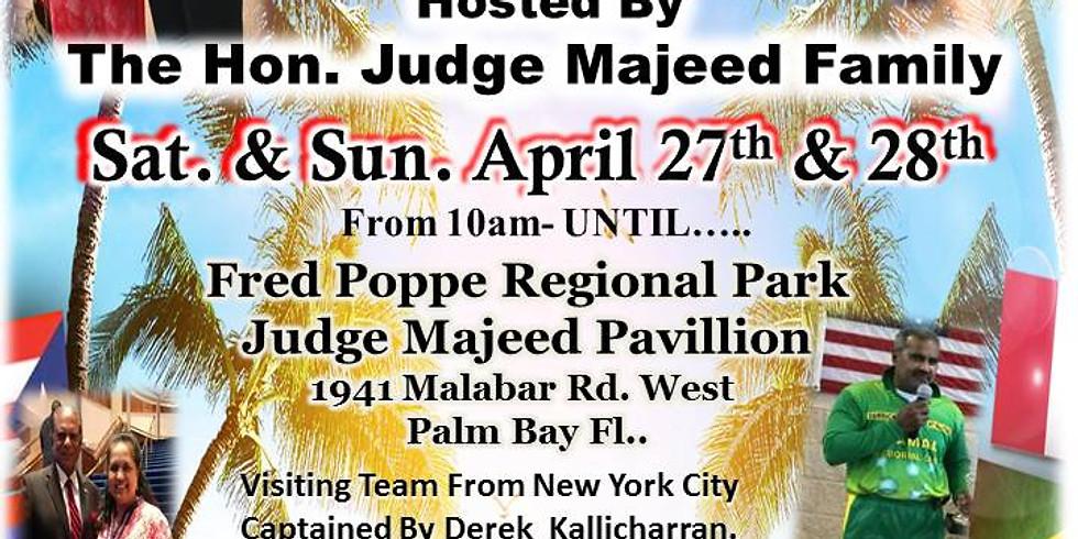 Judge Majeed Cricket Game