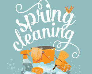 Spring has sprung! Time to de-clutter your office!