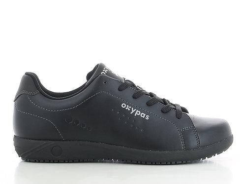 FS016BLK- Oxypas Evans Non Slip Sneakers (BLACK)