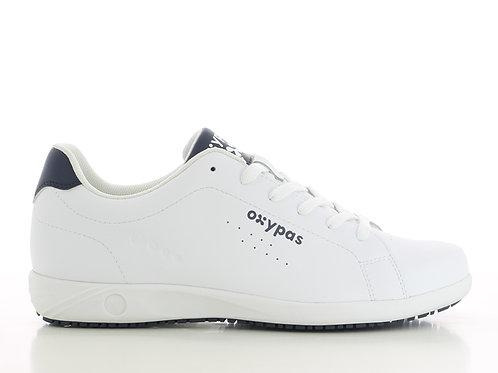 FS016WHT- Oxypas Evans Non Slip Sneakers (WHITE)