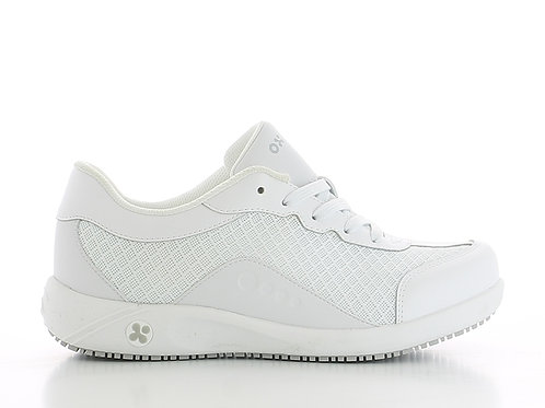 FS015WHT- Oxypas Ivy Tie Up Shoes (WHITE)