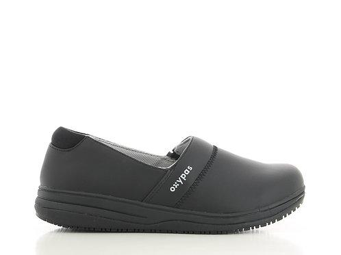 FS011BLK- Oxypas Suzy Slip On Non Slip Shoes (BLACK)