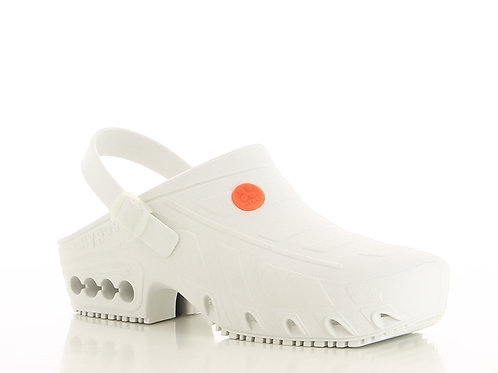 FS009WHT- Oxypas Studium Operating Theatre Clogs (WHITE)