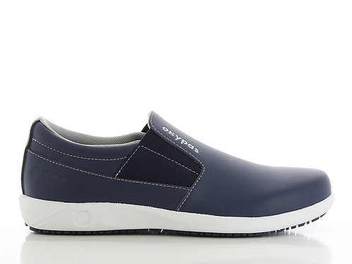 FS017NAV- Oxypas Roy Slip On Shoes (NAVY)