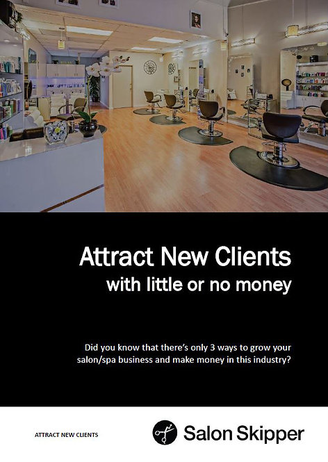 Attract New Clients Ebook