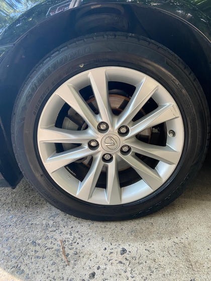 Wheels and tires detailed