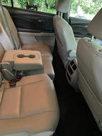 After interior auto detail