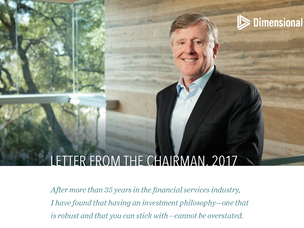 Dimensional's David Booth on the Importance of an Investment Philosophy