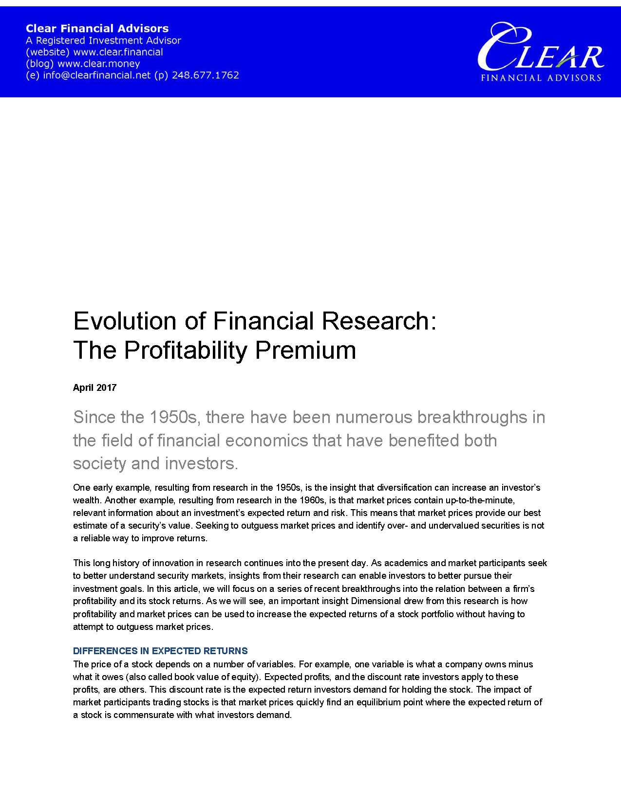 Evolution of Financial Research The Profitability Premium_Page_1