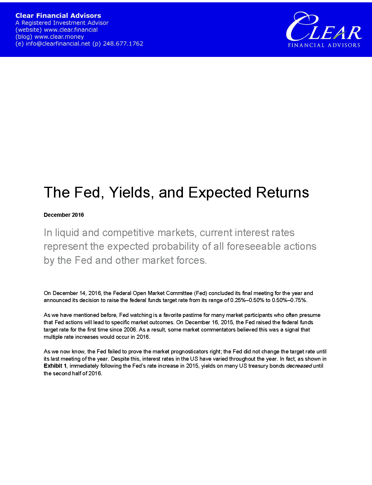 The Fed_ Yields_ and Expected Returns_Page_1