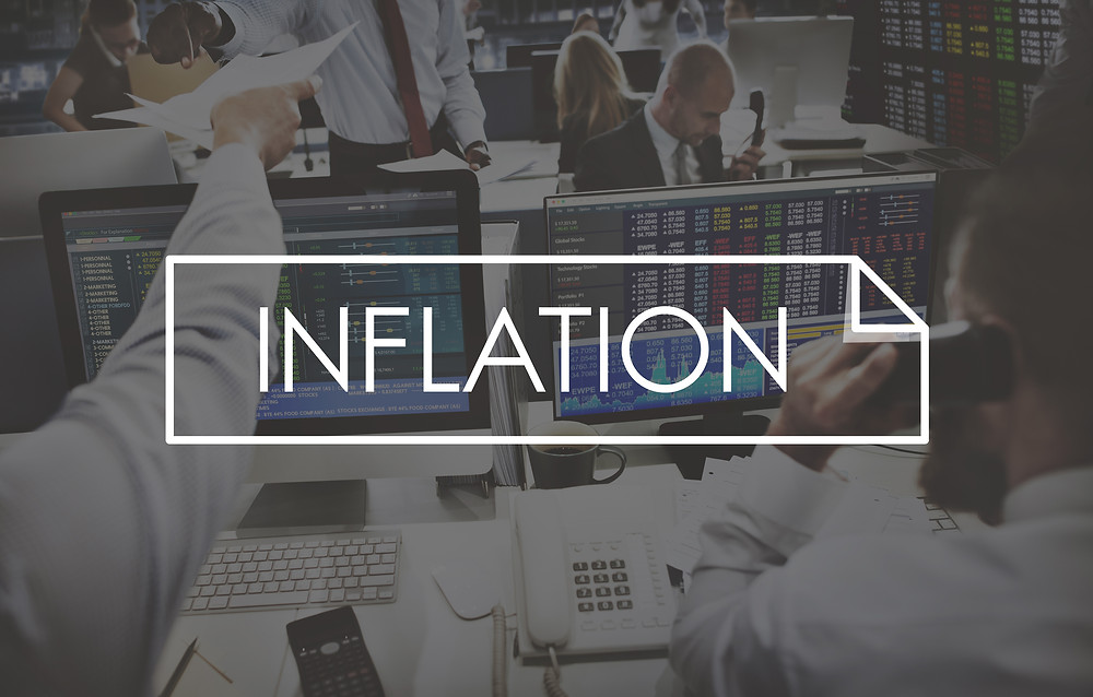 Negative inflation real interest rates investing bonds dfa fee-only