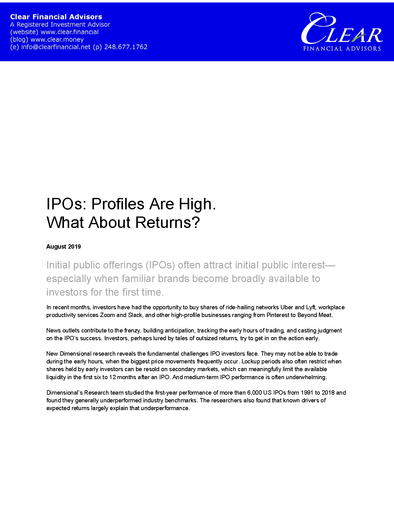 201908 IPOs_ Profiles Are High_ What Abo