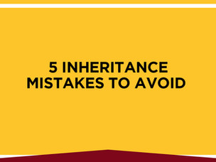 What Not To Do When You Inherit Money