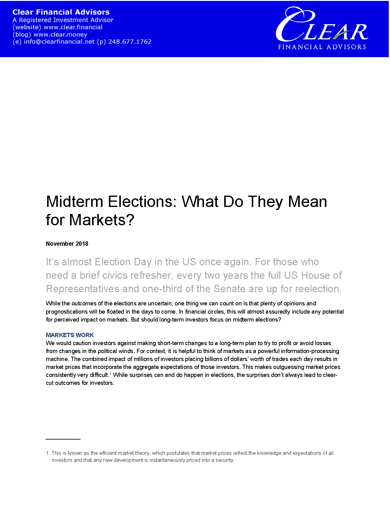 201811 Midterm Elections What Do They Me