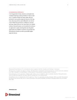 DFA Advisor Diversification Report