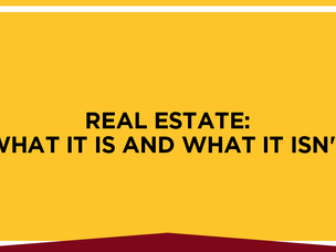The Real Facts Behind Real Estate Investing