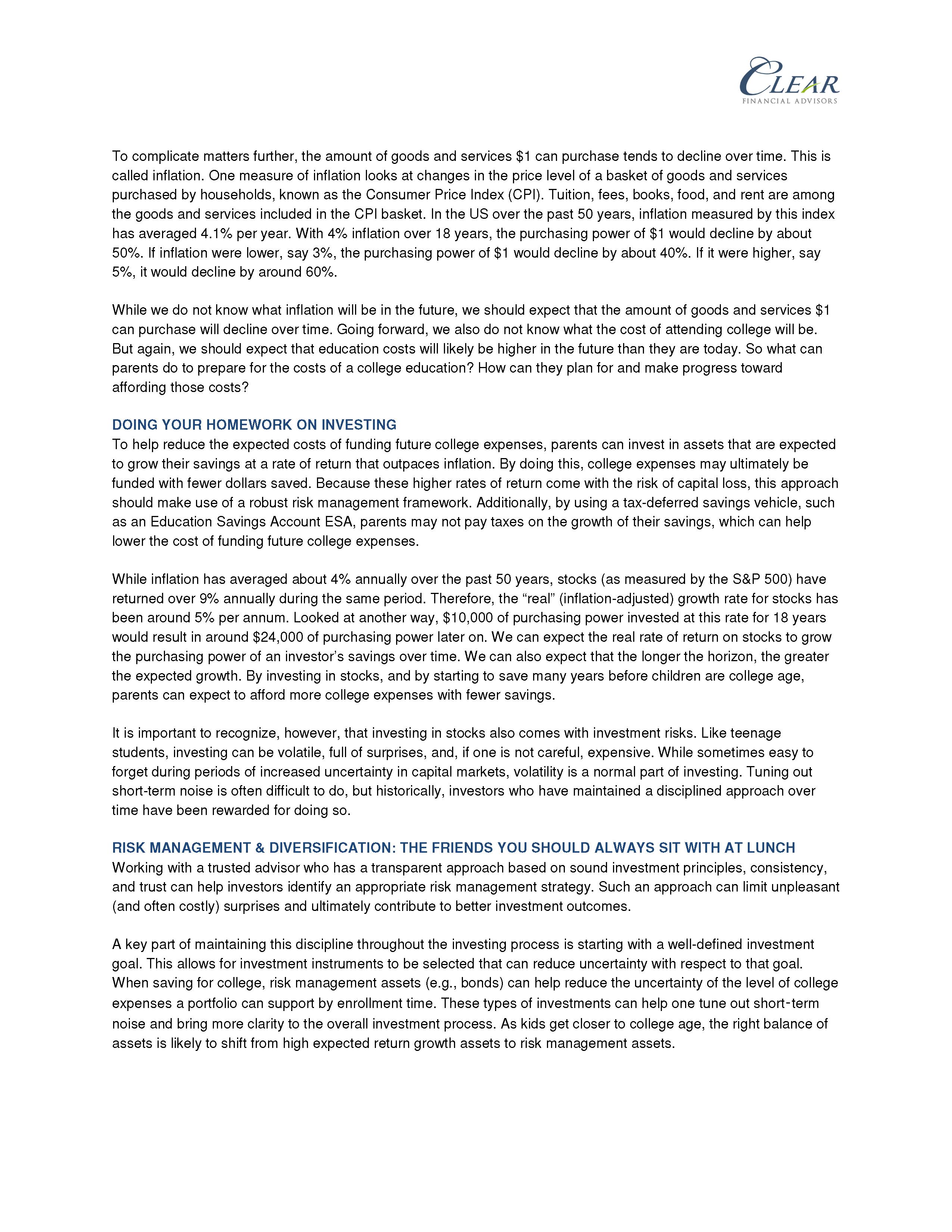 Education Savings Account ESA 2