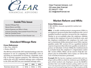Tax News and Updates 2017 Issue 1