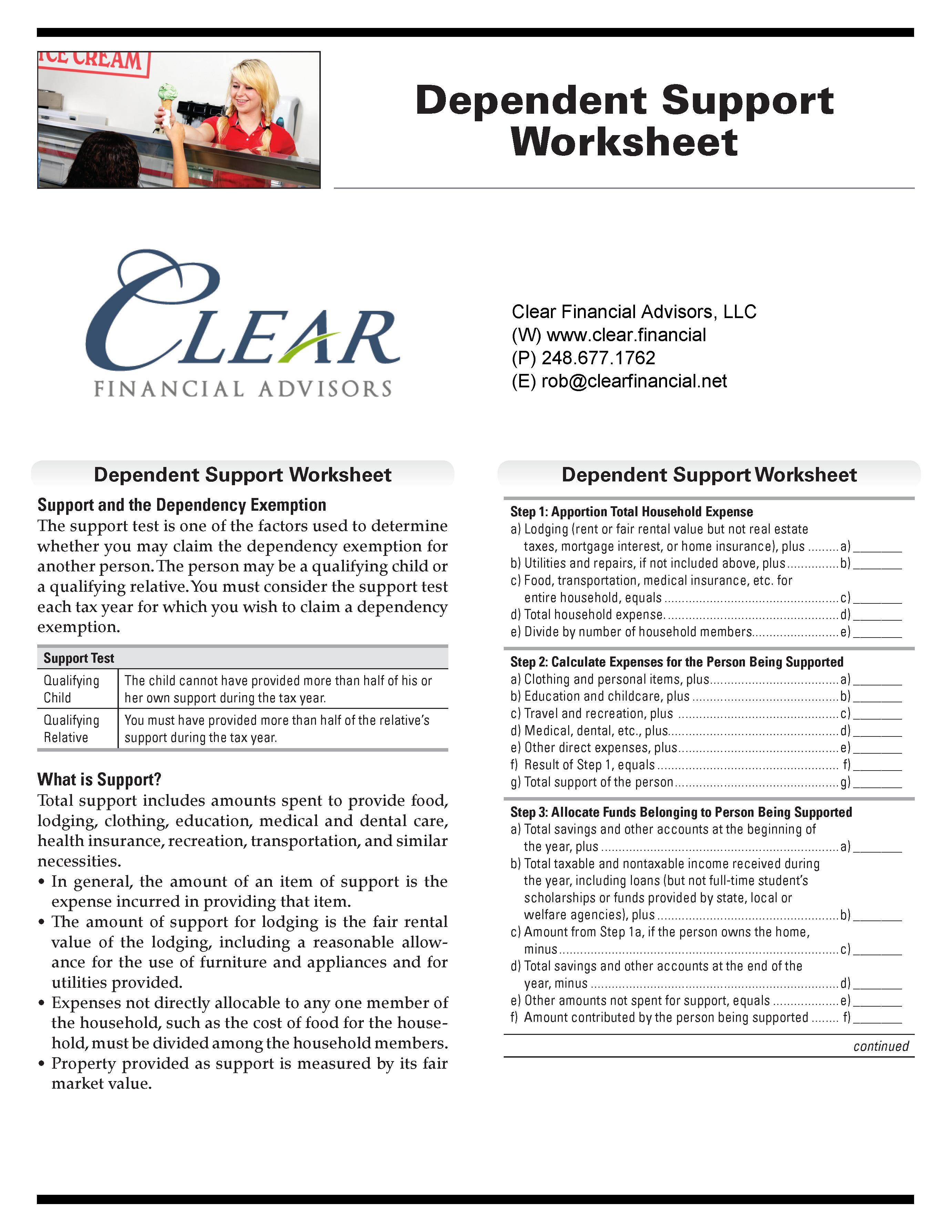 Dependent_Support_Worksheet_2016_Page_1