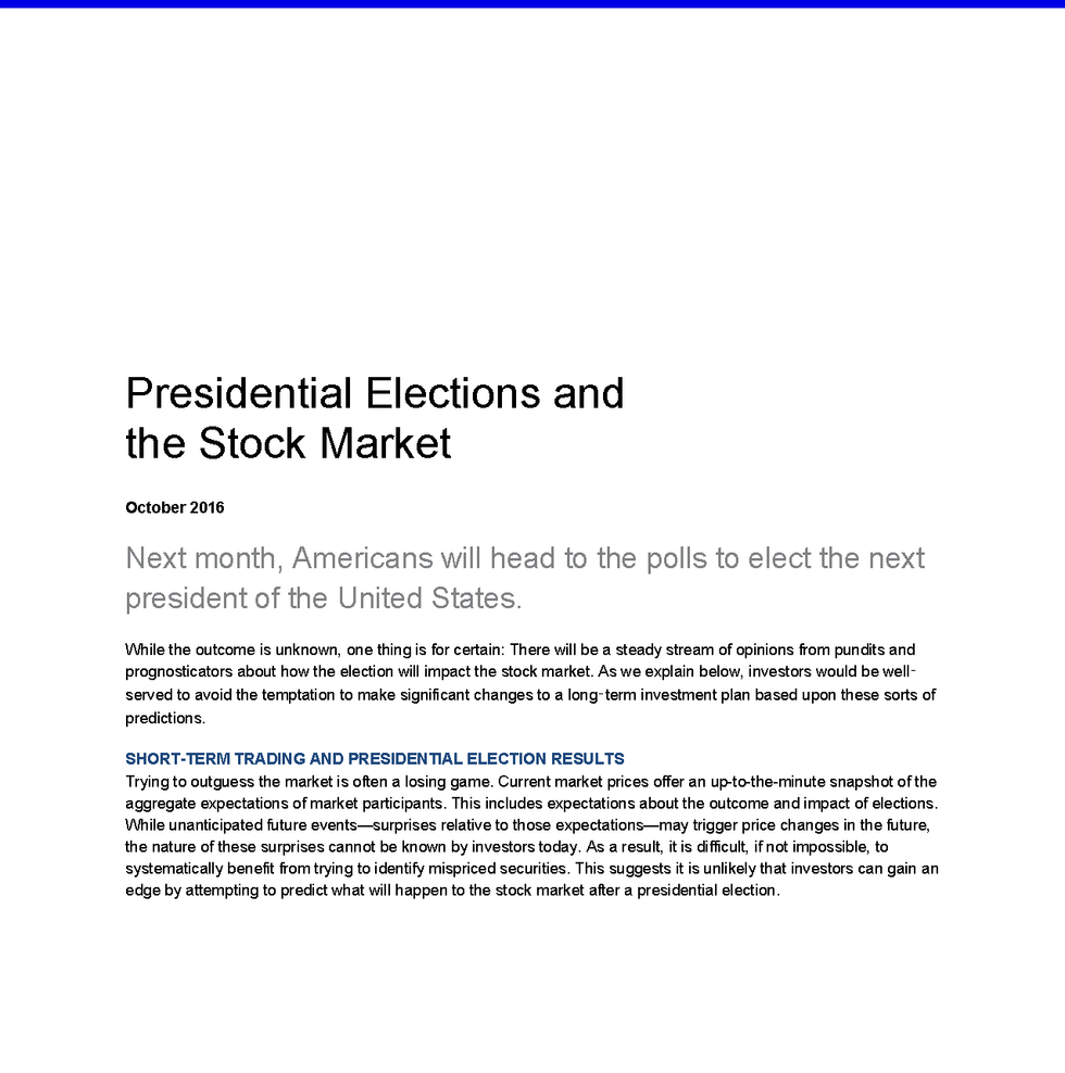 presidential-elections-and-the-stock-mar