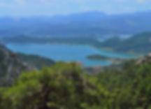 Der Karacaören Stausee Wandern Paulusweg Türkei