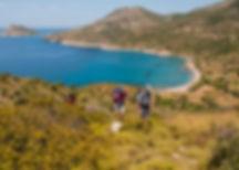 Trekking the Carian trail