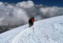 Skitouren im Kacar Gebirge