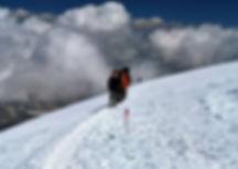 Climbing Mt. Pik Lenin