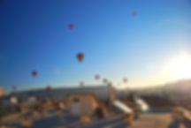 Ballons bei Kappadokien