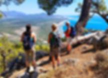 Lycian Way hiking in turkey walking trekking