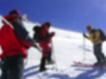 Skitour am Berg Mt. Ararat