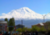 The biblical mountain Mt. Ararat