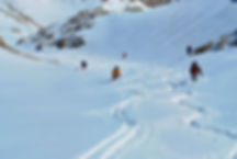 Abfahrt im Aladaglar Gebirge