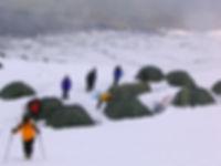 Hochlager am Berg Ararat