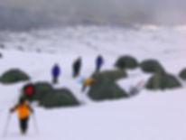 Hochlager am Mt. Ararat