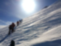 Climbing Mt. Kazbek in Georgia